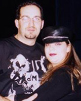 Depeche Mode Fans Ivan and Patty